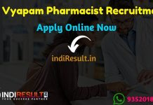 CG Vyapam Pharmacist Recruitment 2019,CG Vyapam Pharmacist Vacancy 2019,CG Vyapam Pharmacist Notification,Pharmacist Vacancy In CG Vyapam,vyapam.cgstate.gov