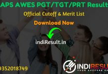 Army Public School APS AWES PGT/TGT/PRT Result 2019 - Army Welfare Education Society (AWES) will release Result Date Of Army Public School AWES Exam 2019 for around 8000 PGT/ TGT/ PRT posts. As per official APS AWES Result 2019 will be released on 01 November 2019. All those candidates who have appeared in the APS CDS exam for the post of PGT, TGT and PRT can check their result on Army Public School Website aps-csb.in.