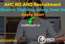 Allahabad High Court RO ARO Recruitment 2021 - Apply Allahabad High Court AHC 396 Review Officer (RO) & Assistant Review Officer (ARO) vacancy Notification.