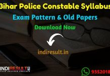Bihar Police Constable Syllabus 2019 - Check CSBC Bihar Constable Syllabus & Exam Pattern 2019 hac released. Police Constable Official Syllabus pdf has released by CSBC Bihar.