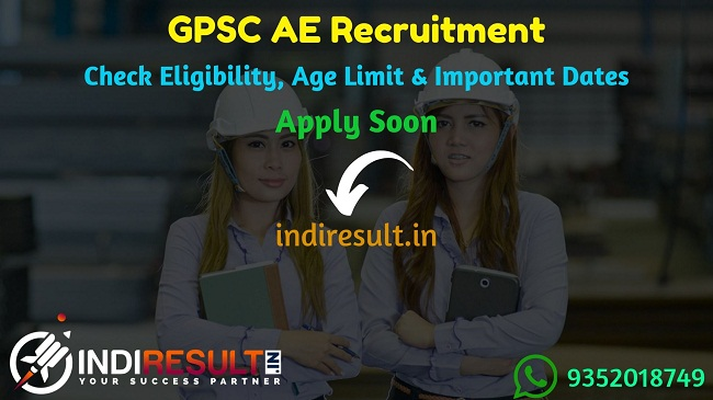 GPSC AE Recruitment 2019 – Check GPSC AE Notification, Eligibility Criteria, Age Limit, Educational Qualification and Selection process. Gujarat Public Service Commission GPSC invites online application to fill 350 vacancy of Assistant Engineer Civil Posts. This is a great opportunity for the applicants who are searching Govt Jobs in Gujarat.