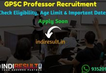 GPSC Professor, Associate Professor Recruitment 2019 - Check GPSC Recruitment Notification, Eligibility Criteria, Age Limit, Educational Qualification and selection process. Gujarat Public Service Commission GPSC invited online application to fill 231 vacancies of Professor, Associate Professor posts. This is a great opportunity for the applicants who are searching for Govt Jobs in Gujarat.