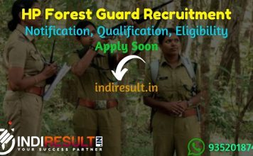 HP Forest Guard Recruitment 2021 - Apply Online for Himachal Pradesh 311 Forest Guard Vacancy, Notification, Eligibility, Age Limit, Salary, Last Date.