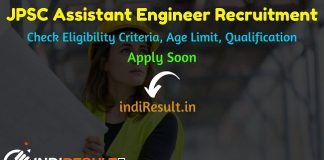 JPSC Assistant Engineer Recruitment 2019 - Check JPSC AE Eligibility Criteria, Age Limit, Educational Qualification and selection process. Jharkhand Public Service Commission invites online application to fill 637 vacancies to the post of AEN posts.