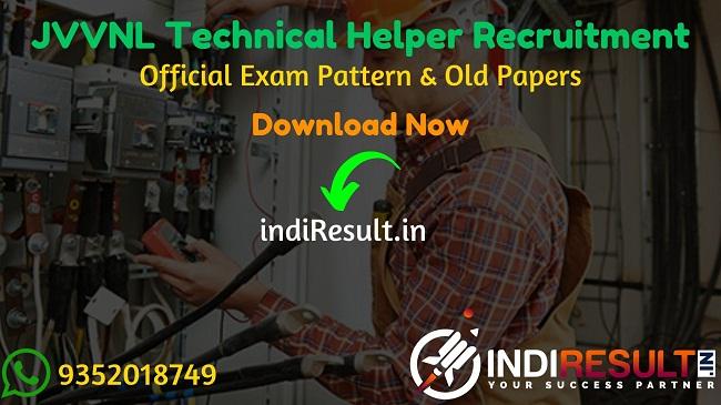 RVUNL JVVNL Technical Helper Recruitment 2021 – Apply Rajasthan Vidhut Vibhag 1512 Technical Helper Vacancy Notification, Eligibility, Salary, Age Limit.
