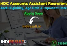 LAHDC Accounts Assistant Recruitment 2019 - Check LAHDC Accounts Assistant Notification, Eligibility Criteria, Age Limit, Educational Qualification and Selection process. Ladakh Autonomous Hill Development Council invites Offline application to fill 25 vacancies to the post of Assistant Accountant Posts. This is a great opportunity for the applicants who are searching for Govt Jobs in Ladakh.