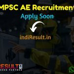 MPSC AE Recruitment 2019 MPSC Assistant Engineer Notification 2019 – The Maharashtra Public Service Commission has released MPSC AE Vacancy Notification.