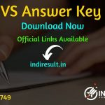 NVS Answer Key 2019 - Navodaya Vidyalaya Samiti releases has released official answer key on official website navodaya.gov.in for the PGT/TGT Teacher exam conducted on 3rd October and 17th September 2019.