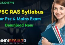 RPSC RAS Syllabus For Pre & Mains Exam - Get Latest Syllabus of RAS Pre & Mains Exam For Better Preparation !!! Check detailed RPSC Rajasthan RAS Syllabus and Exam Pattern for Pre, Mains & Interview Exam. Download Syllabus Of Rajasthan Public Services Commission RAS Exam, Important Books & Old Papers Here.