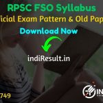 RPSC FSO Syllabus 2019 - Check RPSC Food Safety Officer Official Syllabus and Exam Pattern for written exam. Download Syllabus of RPSC FSO Exam 2019 Pdf, Important Books & Old Papers Here. Rajasthan Public Service Commission has released RPSC FSO 2019 Syllabus & Exam Pattern 2019. Official Syllabus pdf Download from here.