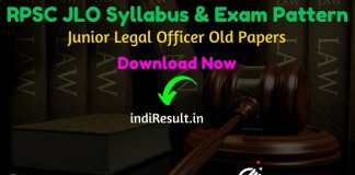 RPSC JLO Syllabus 2021 - Download RPSC Junior Legal Officer Syllabus Pdf in Hindi/English & RPSC JLO Exam Pattern. Download Syllabus of RPSC JLO Exam Pdf.