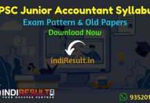 RPSC Junior Accountant Syllabus 2019,Rajasthan Accountant Syllabus,RPSC Jr Accountant Syllabus,RPSC Accountant Official Syllabus,RPSC Accountant Old Papers