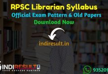 RPSC Librarian Syllabus 2020 – Check detailed RPSC Librarian Grade 2 Syllabus and Exam Pattern for written exam. Download RPSC Syllabus Pdf of Librarian Grade IInd, Important Books & Old Papers Here. Rajasthan Public Service Commission has released official Librarian Syllabus & Exam Pattern 2020.