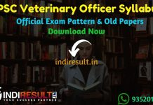 RPSC Veterinary Officer Syllabus 2019 – Check detailed RPSC Rajasthan Veterinary Officer Syllabus and Exam Pattern for written exam. Download RPSC Syllabus Pdf of Veterinary Officer, Important Books & Old Papers Here. Rajasthan Public Service Commission RPSC has released official Veterinary Officer Syllabus & Exam Pattern 2019.