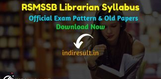 RSMSSB Librarian Syllabus 2020- Check detailed RSMSSB Librarian Grade III Syllabus and Exam Pattern for written exam. Download RSMSSB Librarian Detailed Syllabus Pdf, Important Books & Old Papers Here. Rajasthan Subordinate and Ministerial Services Selection Board RSMSSB has released Librarian Syllabus & Exam Pattern 2020.