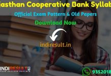 Rajasthan Cooperative Bank Syllabus 2021 – Download RSCB Rajasthan Cooperative Bank Banking Assistant,Programmer, Steno, Manager Syllabus pdf & Exam Pattern