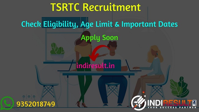 TSRTC Recruitment 2019 - Check TSRTC Junior Assistant, Traffic Supervisor, Traffic Constable, Driver, Conductor Eligibility Criteria, Age Limit, Educational Qualification and selection process. Telangana State Road Transport Corporation will invite online application to fill 2000 vacancies of various posts.