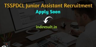 TSSPDCL Junior Assistant Recruitment 2021 - Apply TSSPDCL 500 Jr Assistant Vacancy Notification, Eligibility Criteria, Salary, Age Limit, Last Date.