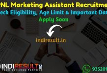 BPNL Marketing Assistant Recruitment 2019 – Check BPNL Marketing Assistant Notification, Eligibility Criteria, Age Limit, Educational Qualification and selection process. Bhartiya Pashupalan Nigam Limited BPNL invites online application to fill 2959 vacancy of Marketing Manager & Marking Assistant Posts.