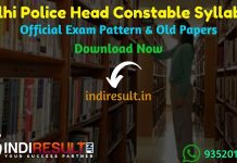 Delhi Police Head Constable Syllabus 2019 - Check detailed Delhi Police Head Constable Official Syllabus and Exam Pattern of written exam. Download Delhi Police Head Constable Detailed Syllabus Pdf, Important Books & Old Papers Here. Police Department Delhi has released official Head Constable Syllabus & Exam Pattern 2019.
