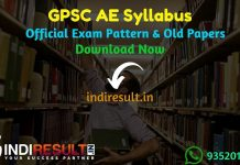 GPSC AE Syllabus 2020 - Check GPSC AE Civil, Mechanical, Electrical Syllabus & Exam Pattern. Download GPSC Assistant Engineer Syllabus Pdf, Important Books.