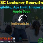 HPPSC Lecturer Recruitment 2021- Apply HPPSC 500 School Lecturer Vacancy Notification, Salary, Eligibility Criteria, Age Limit, Educational Qualification.
