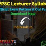 HPPSC Lecturer Syllabus 2021 - Download HP Lecturer Syllabus Pdf Download in Hindi/English & HPPSC Lecturer Exam Pattern. Syllabus of HPPSC Lecturer Exam