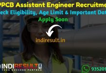 MPPCB Assistant Engineer Recruitment 2019 - Check MPPCB Assistant Engineer AE Notification, Eligibility Criteria, Age Limit, Educational Qualification and selection process. Madhya Pradesh Pollution Control Board MPPCB invites online application to fill 48 Vacancy of Assistant Engineer and Scientist Posts. This is a great opportunity for the applicants who are searching for Govt Jobs in Madhya Pradesh.