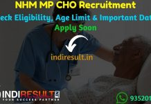 NHM MP CHO Recruitment 2019 - Check NHM MP CHO Notification, Eligibility Criteria, Age Limit, Educational Qualification and Selection process. National Health Mission NHM Madhya Pradesh invites online application to fill 3450 Community Health Officer Vacancy posts. This is a great opportunity for the applicants who are searching for Govt Jobs in Madhya Pradesh.
