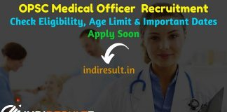 OPSC MO Recruitment 2019 - Check OPSC Odisha Medical Officer Recruitment Notification, Eligibility Criteria, Age Limit, Educational Qualification and Selection process. Odisha Public Service Commission OPSC invited online application to fill 3278 vacancy of Medical Officer MO posts. This is a great opportunity for the applicants who are searching for Govt Jobs in Odisha.