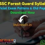 OSSSC Forest Guard Syllabus 2020 - Check detailed OSSSC Odisha Forest Guard Syllabus 2020 and Exam Pattern for written exam. Download Syllabus Of OSSSC Forest Guard Exam Pdf, Important Books & Old Papers Here. Odisha Subordinate Staff Selection Commission OSSSC has released Forest Guard Syllabus & Exam Pattern 2020.