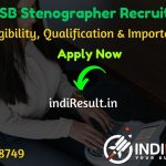 RSMSSB Stenographer Recruitment 2020 - Check RSMSSB Rajasthan Stenographger Notification, Notification, Eligibility Criteria, Age Limit, Educational Qualification and selection process. Rajasthan Subordinate and Ministerial Services Selection Board RSMSSB will invite online application to fill 1111 vacancy of stenographer posts.