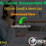 RVUNL Junior Accountant Result 2018 – The Rajasthan Rajya Vidhyut Nigam LTD RVUNL released Result Of Junior Accountant Exam 2018. This RVUNL JA Result 2018 can be accessed from RVUNL'S Official Website energy.rajasthan.gov.in/rvunl. This RVUNL Junior Accountant Exam 2018 conducted on May 2018. Aspirants can check result and cutoff by name and roll number.