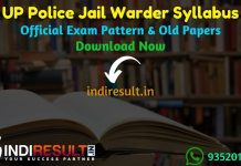UP Police Jail Warder Syllabus 2019 – Check detailed UPPBPB UP Police Jail Warder Official Syllabus and Exam Pattern of written exam. Download UP Police Bandi Rakshak Syllabus Pdf, Important Books & Old Papers Here. Uttar Pradesh Police Recruitment Board has released Jail Warder Syllabus & Exam Pattern 2019.