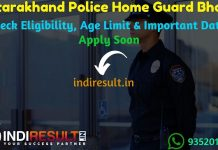 Uttarakhand Police Home Guard Recruitment 2019 – Check Uttarakhand Police Home Guard Notification, Eligibility Criteria, Age Limit, Educational Qualification and Selection process. Uttarakhand Police Department will invite online application to fill 3590 vacancy of Home Guard posts. This is a great opportunity for the applicants who are searching for Latest Govt Jobs in Uttarakhand.