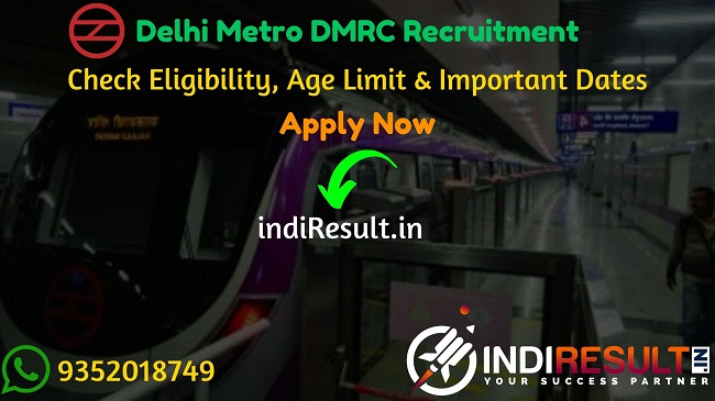 Delhi Metro DMRC Recruitment 2020 - The Delhi Metro Rail Corporation DMRC released recruitment notification of 1492 Customer Relation Assistant, Steno, JE, Office Assistant Posts. Check Latest Delhi Metro DMRC Jobs Notification, Eligibility Criteria, Age Limit, Educational Qualification and selection process. This is a great opportunity for the applicants who are searching for Govt Jobs in Delhi Metro.