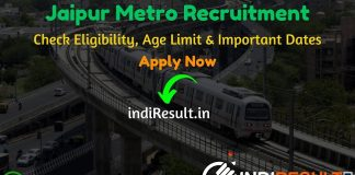 Jaipur Metro Recruitment 2020 - The Jaipur Metro Rail Corporation JMRC released recruitment notification of 39 Customer Relation Assistant, JE, Maintainer Posts. Check Latest Jaipur Metro Jobs Notification, Eligibility Criteria, Age Limit, Educational Qualification and selection process. This is a great opportunity for the applicants who are searching for Govt Jobs in Jaipur Metro.