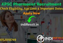 Kerala KPSC Pharmacist Recruitment 2019 - Check KPSC Pharmacist Vacancy Notification, Eligibility Criteria, Age Limit, Educational Qualification and selection process. Kerala Public Service Commission KPSC invited online application to fill 45 vacancy of Pharmacist Grade - II posts. This is a great opportunity for the applicants who are searching for Govt Jobs in Kerala.