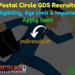 WB GDS Recruitment 2019 for 5778 GDS (Gramin Dak Sevak) - Check West Bengal WB GDS Notification, Eligibility Criteria, Age Limit, Educational Qualification and Selection process. West Bengal WB Postal Circle invites online application to fill 5778 vacancy of Gramin Dak Sevak posts. This is a great opportunity for the applicants who are searching for Govt Jobs in West Bengal.