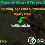 Delhi Forest Guard Recruitment 2020 - Check Delhi Forest Department Forest Guard Notification, Eligibility Criteria, Salary, Age Limit, Educational Qualification and selection process.