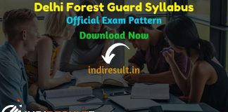 Delhi Forest Guard Syllabus 2020 - Check detailed Delhi Forest Ranger, Forest Guard & Wildlife Guard Syllabus and Exam Pattern for written exam. Download Delhi Forest Guard Detailed Syllabus Pdf, Important Books & Old Papers Here. Delhi Forest Department has released official Forest Guard Syllabus & Exam Pattern 2020.