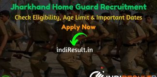 Jharkhand Home Guard Recruitment 2020 - Check Jharkhand Home Defense Corps Recruitment Notification 2020 For 1021 Home Guard Bharti, Eligibility Criteria, Age Limit, Educational Qualification and Jharkhand Home Guard Vacancy 2020 Selection process. Jharkhand Home Defense Corps invites Online application to fill 1021 vacancy of Home Guard Posts. This is a great opportunity for the applicants who are searching for Govt Jobs in Jharkhand.