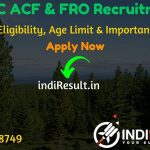 RPSC ACF & FRO Recruitment 2020 - Check RPSC Rajasthan ACF & Forest Range Officer Recruitment Notification, Eligibility Criteria, Age Limit, Educational Qualification and selection process. Rajasthan Public Service Commission RPSC invites online application to fill 204 vacancy of ACF & FRO posts. This is a great opportunity for the applicants who are searching for Govt Jobs in Rajasthan.