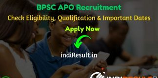 BPSC APO Recruitment 2020 - Check Bihar BPSC Assistant Prosecution Officer Recruitment Notification, Eligibility Criteria, Age Limit, Educational Qualification and selection process. The Bihar Public Service Commission BPSC invites online application to fill 553 vacancy of APO posts. This is a great opportunity for the applicants who are searching for Govt Jobs in Bihar.