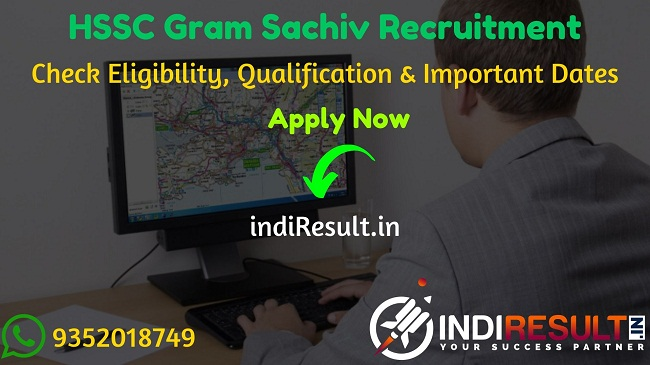 Haryana HSSC Gram Sachiv Recruitment 2020 HSSC 697 Gram Sachiv Bharti 2020 – Check Haryana Staff Selection Commission HSSC Gram Sachiv Bharti Notification, Eligibility Criteria, Age Limit, Educational Qualification and selection process. HSSC Gram Sachiv Vacancy 2020 Notification is released. And this HSSC Gram Sachiv Notification for the 697 Gram Sachiv Posts.This is a great opportunity for the applicants who are searching for Govt Jobs in Haryana.
