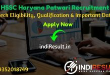 HSSC Haryana Patwari Recruitment 2021 - Apply HSSC Haryana 588 Patwari Vacancy Notification, HSSC Patwari Eligibility Criteria, Salary,Age Limit,hssc.gov.in