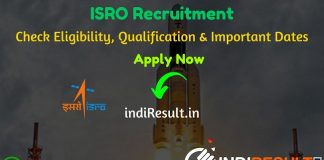 ISRO Recruitment 2020 - Check ISRO Latest Notification, Eligibility Criteria, Age Limit, Educational Qualification and selection process. Indian Space Research Organisation ISRO has invite online application to fill 182 vacancy of Technician, Fireman and Other Posts. This is a great opportunity for the applicants who are searching for Govt Jobs in ISRO.