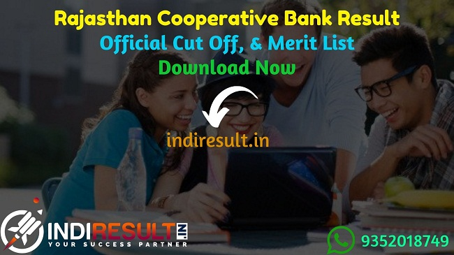 Rajasthan Cooperative Bank Banking Assistant Result 2020 - Download Rajasthan Cooperative Bank RSCB Banking Assistant, Manager & Stenographer Result, Cutoff & Merit List 2020. The Result Date Of Rajasthan Cooperative Bankt Exam is 17 February 2020. This Rajasthan Cooperative Bank Exam Result 2020 can be accessed from RSCB's official website rajcrb.rajasthan.gov.in. This Rajcrb Exam 2019 conducted between 16 – 19 December 2019. Aspirants can check RSCB Banking Assistant, Manager & Stenographer Result and cutoff by name wise and roll number wise.