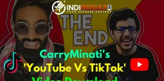 Carryminati YouTube Vs Tik Tok Video Download - Indian YouTuber Carryminati post a roast on youtube goes viral but it was deleated now. We add download Link of Youtube Vs Tik Tok The End Video Mp4 Download Carry Minati Videos Download Full HD 1080p 720p For Mobile 3Gp Download Youtube Vs Tik Tok The End Mp4 Video Download.