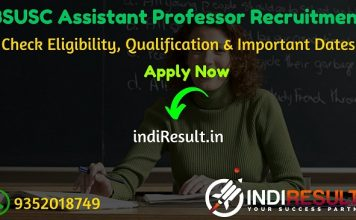 BSUSC Bihar Assistant Professor Recruitment 2020 - Check Bihar BSUSC 4638 Assistant Professor Eligibility Criteria, Age Limit, Educational Qualification and selection process. The Bihar State University Service Commission invites online application to fill 4638 vacancy of Assistant Professor in the State's Universities and Colleges.